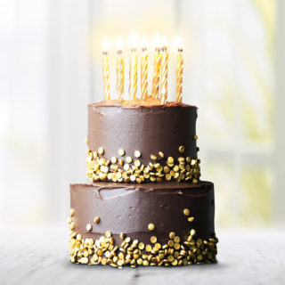 BirthdayCakesChocolateGold
