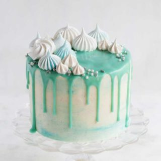 Bluechristmascake