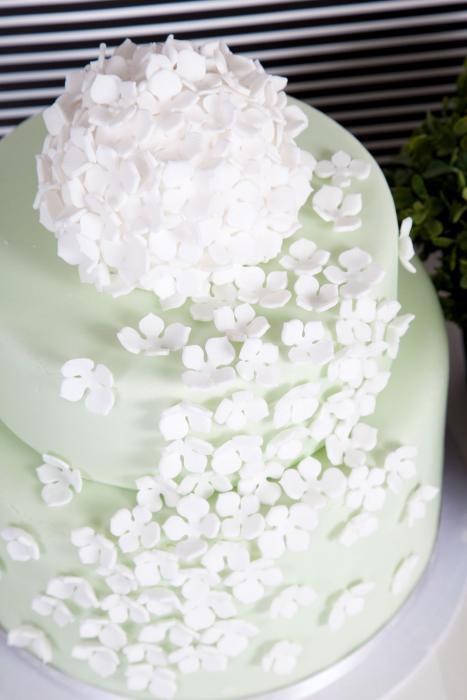 Green Hydrangea Cake Style Your Cake