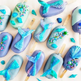 Mermaid Cakesicles